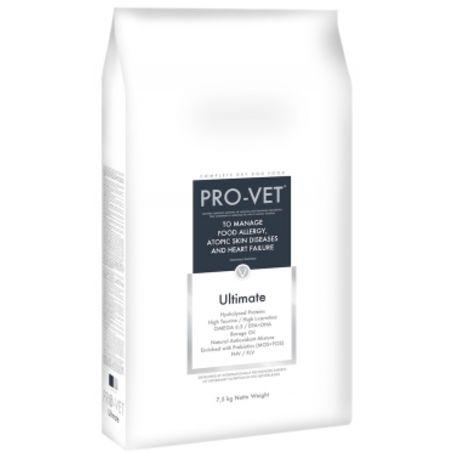 פרו וט - PRO VET- מזון היפואלרגני המסייע גם לכשל לב- 2.5 ק