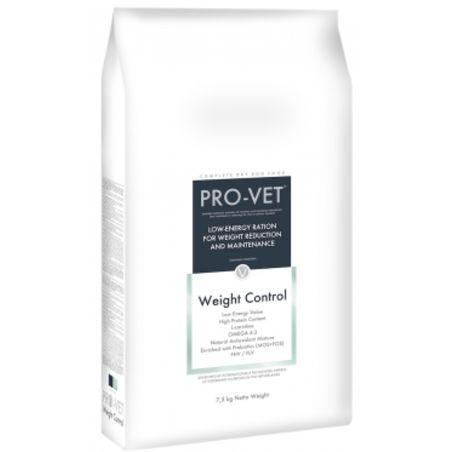 פרו וט - PRO VET- מזון לשמירת משקל ווייט קונטרול- 7.5 ק