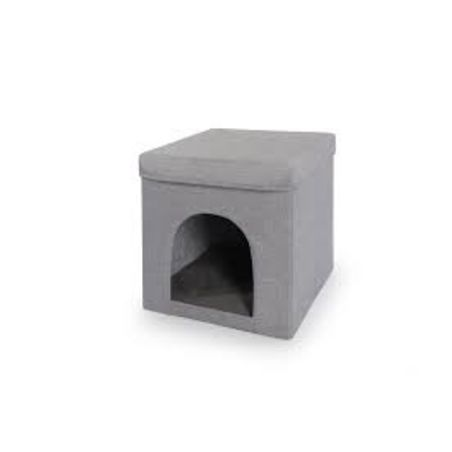 מתקן גירוד + בית לחתול קמון
