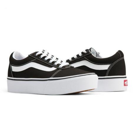נעלי ואנס נשים ונוער סוליה גבוהה | Vans Ward Platform
