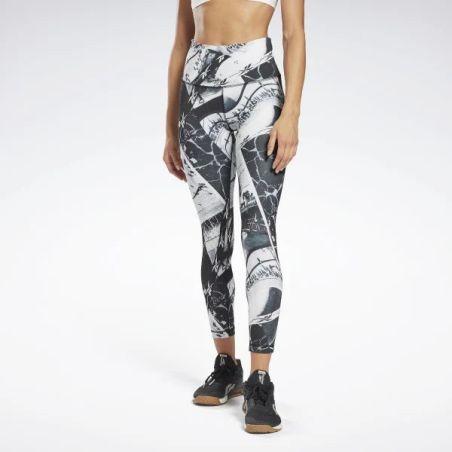 טייץ ריבוק נשים | Reebok Workout Ready Printed Leggings