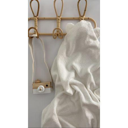 מגבת במבוק אורגני 90*70 NB | לבן