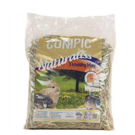 קוניפיק - נטוראליס טימוטי היי עם פרח הקלנדולה (ציפורן חתול) 500 גרם cunipic