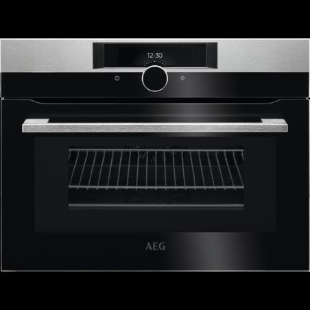 תנור AEG בנוי רב תכליתי משולב מיקרוגל 45 ס