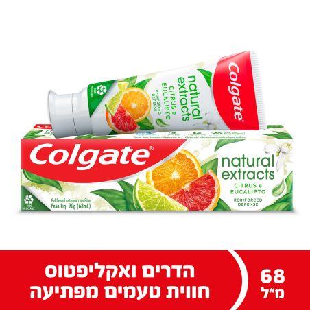 קולגייט משחת שיניים נטורל הדרים אקליפטוס 68 מ'ל