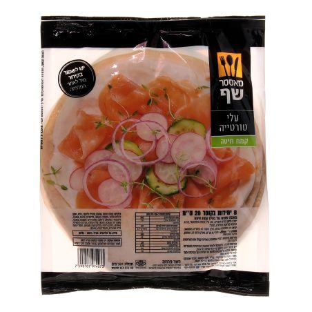 מאסטר שף עלי טורטיה קמח לבן 20 ס'מ 320 גרם