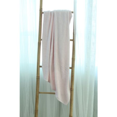 מגבת במבוק ענקית 1.40*90 | ורוד