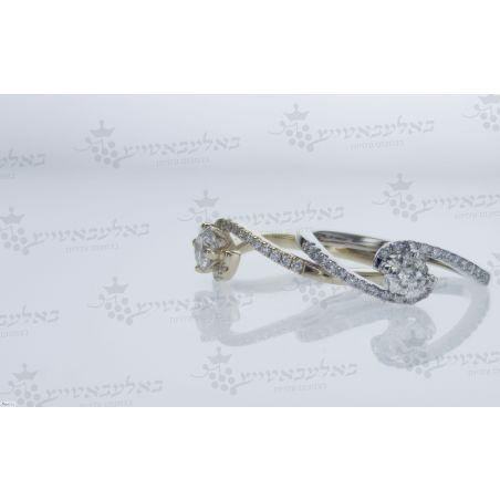 טבעת יהלום B6