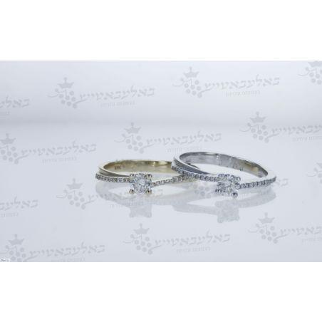 טבעת יהלום B4