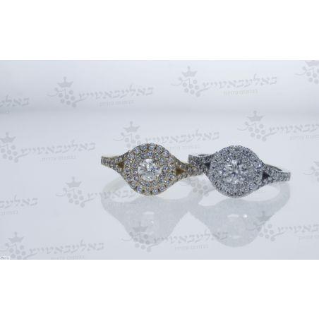 טבעת יהלום B2