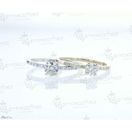 טבעת יהלום B16