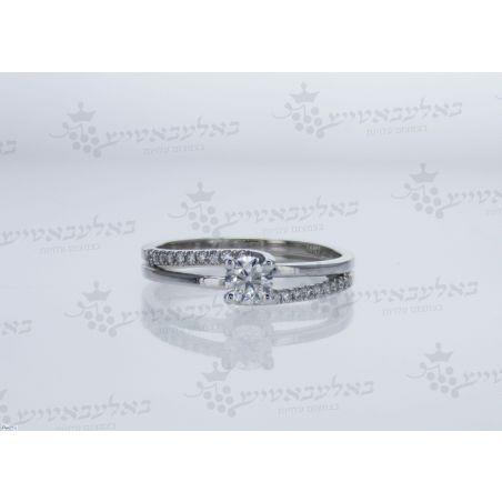 טבעת יהלום B17