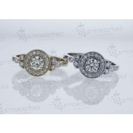טבעת יהלום B10