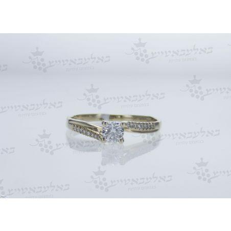 טבעת יהלום B18