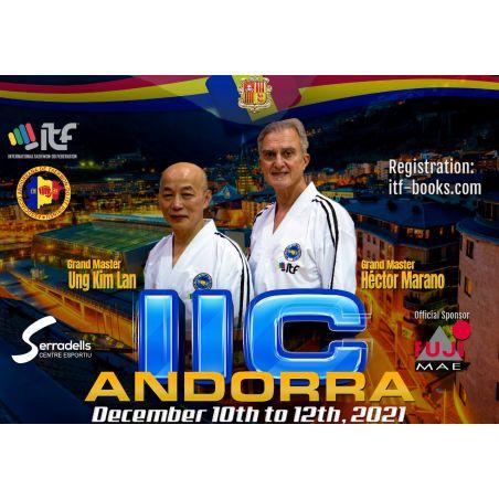 IIC+IKC+IAC ANDORRA (4-6 Degree) 200 Euros +60 Euros Organization