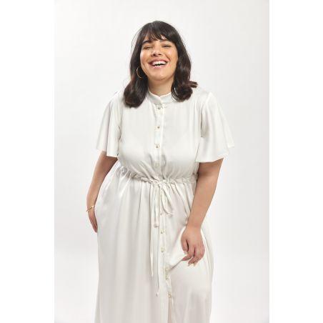 Ella Dress - White