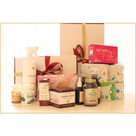 ערכת המושלמת עבור הלידה + תיק מתנה + משלוח חינם