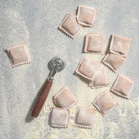 רביולי דלעת ואגוזים - טבעוני מקמח כוסמין מלא