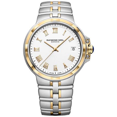 שעון Raymond Weil Parsifal Quartz Classic White Dial Bracelet
