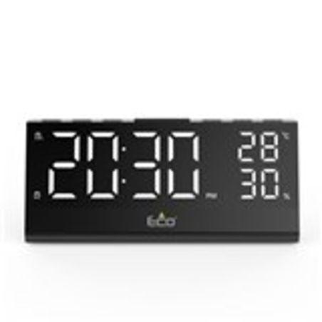 רדיו שעון מעורר ומד טמפרטורה Eco 750