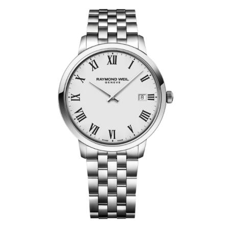 שעון Raymond Weil Toccata Classic Steel White Dial Quartz