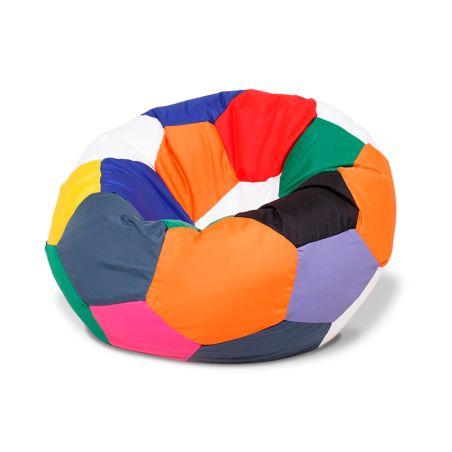 פוף כדורגל - צבעוני