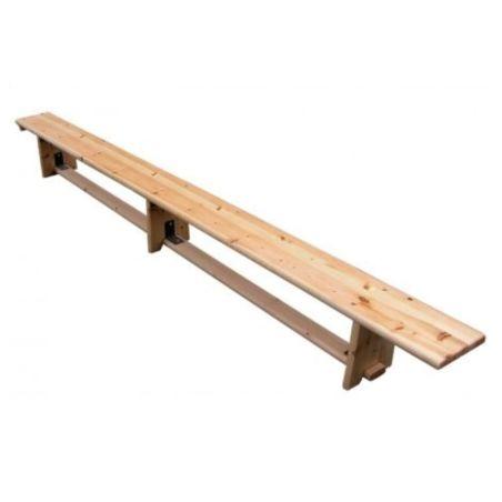 ספסל שוודי מעץ לפי תקן 3.30 מטר