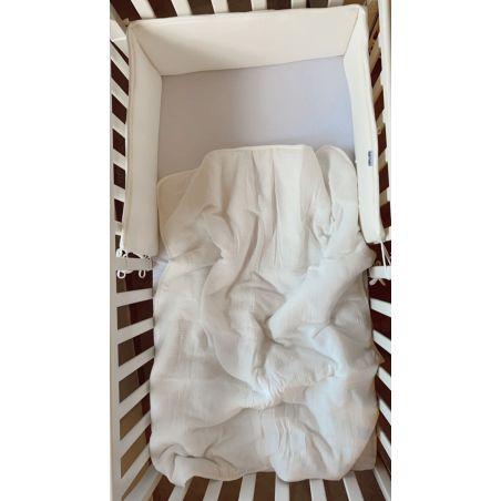 סט למיטת תינוק לבן טבעי |  Natural Tetra