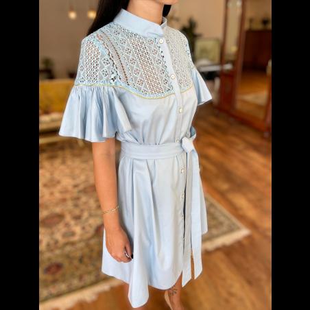 Noya Dress - Blue