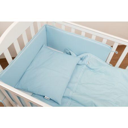 סט מלא למיטת תינוק | תכלת