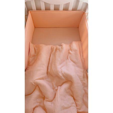 סט למיטת תינוק ורוד בייבי | Natural Tetra