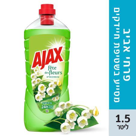 אג'קס חגיגת הפרחים נוזל לניקוי כללי ורצפות 1.5 ליטר