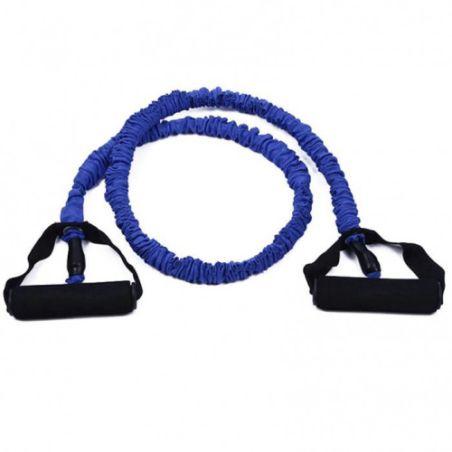 גומיית אימון טיובינג מצופה בד כחול