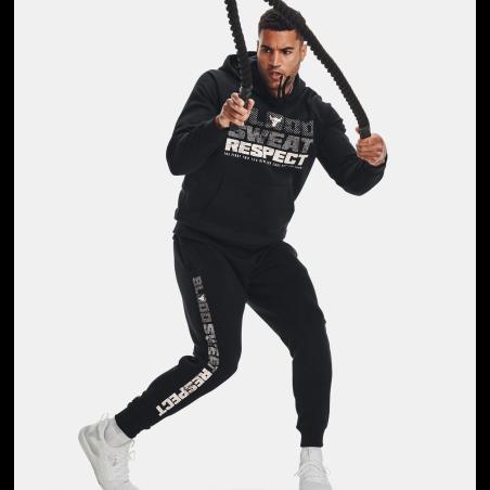 חליפת אנדר ארמור לגברים | Under Armour Project Rock Rival Fleece