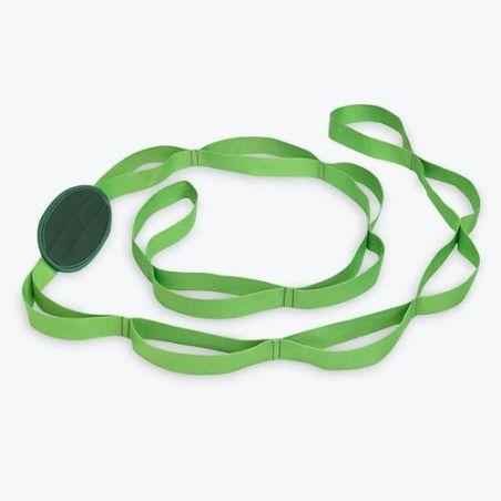 רצועת יוגה GAIAM® Restore Multi Grip Stretch Strap