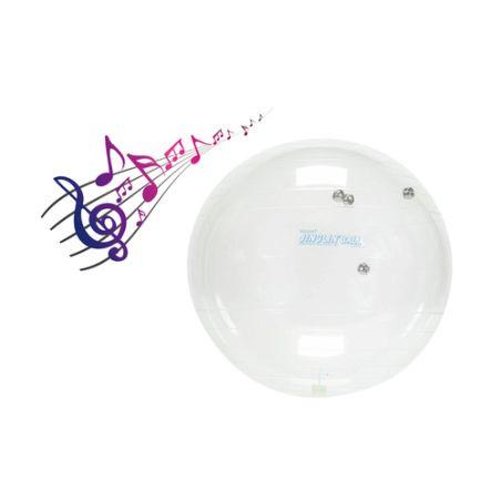 כדור פיזיו שקוף עם פעמונים 55 ס