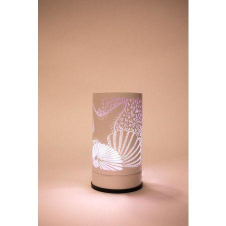 מנורת טאץ מפיצת ריח Scentchips דגם צדף