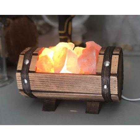 מנורת מלח חבית