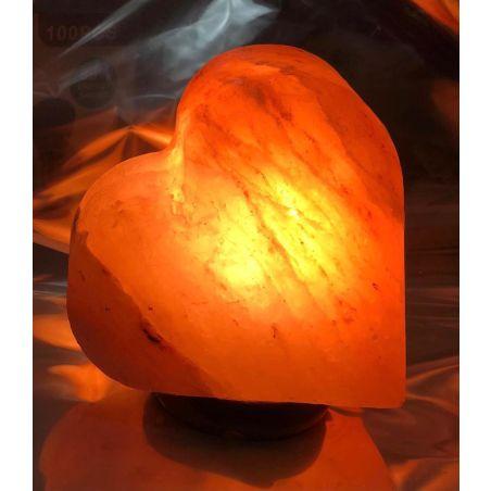 מנורת מלח לב