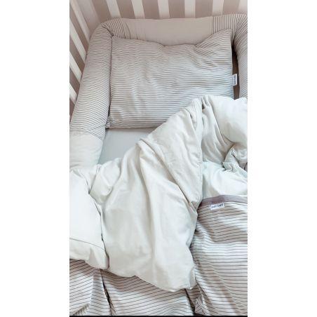 סט מלא למיטת תינוק | מנטה מים AQUA