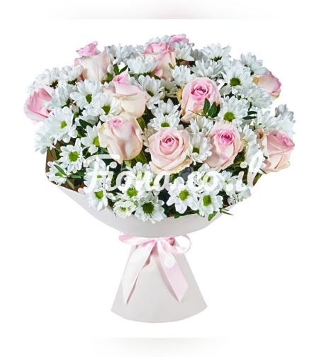 זר פרחים משיכה