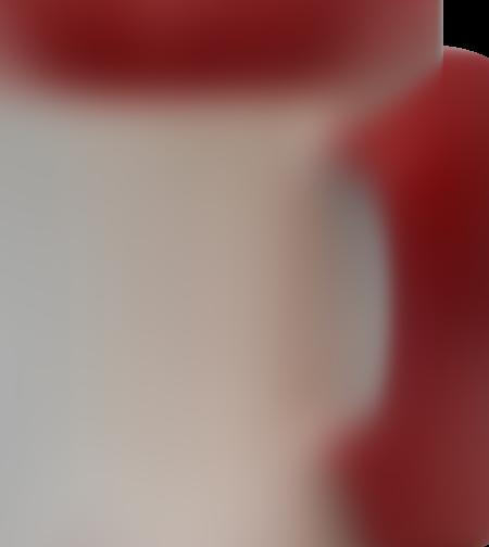 ספל קרמיקה פנים אדום