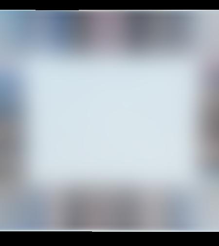 לוח זכוכית עם מסגרת מראה