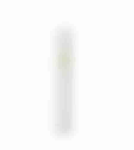 בית מזוזה פלסטיק לבן בורג