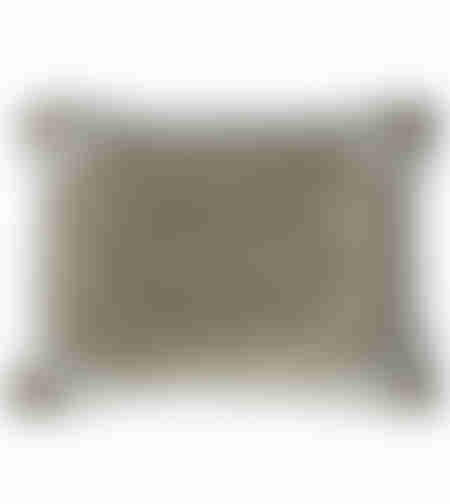 כיסוי כרית הסבה מפואר משובץ באבנים 70X45 ס