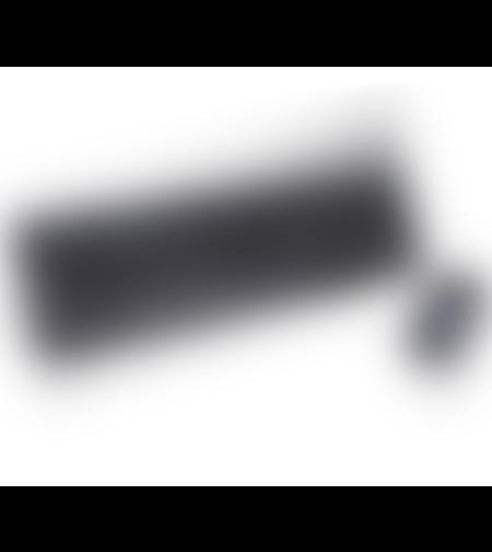 סט מקלדת ועכבר אלחוטיים Silver Line WKM-1603 צבע שחור