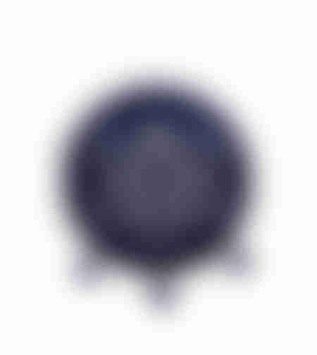 כיסוי פסח קטיפה כחול ריקמה