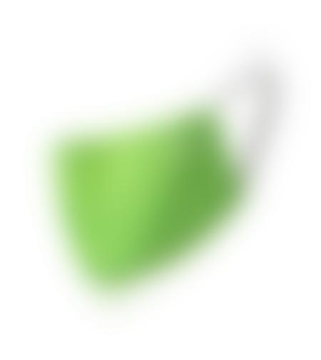 מסכה אנטיבקטריאלית של סקודה צבע ירוק