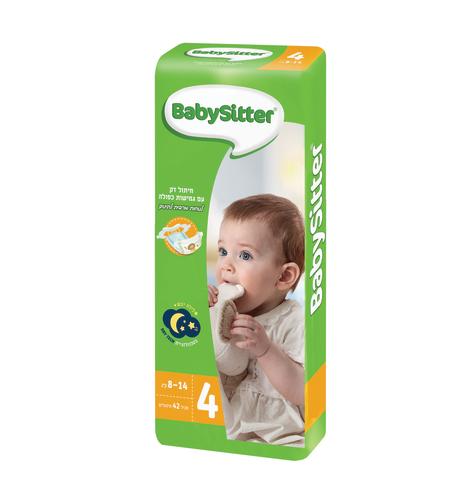 חיתולים מידה 4 בייביסיטר סטנדרט BabySitter Standard