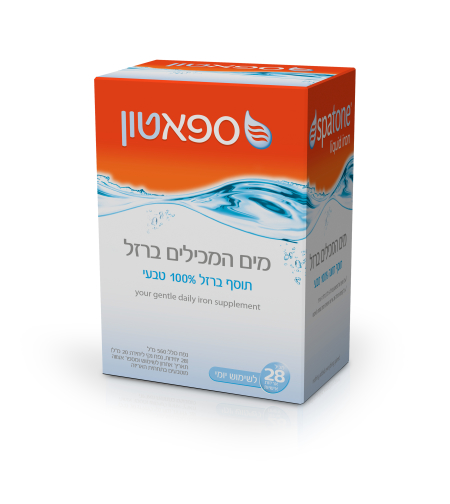 ספאטון מים (תוסף ברזל 100% טבעי)